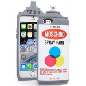 Moschino iPhone 6/6S Spray Paint Case!